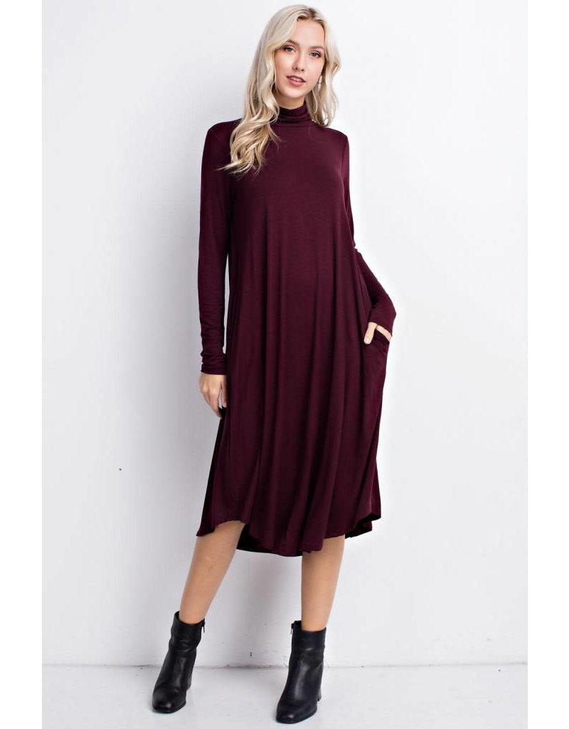 Mittoshop MITTOSHOP Turtle Neck Dress