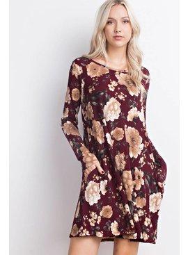 Mittoshop MITTOSHOP Floral Pocket Dress