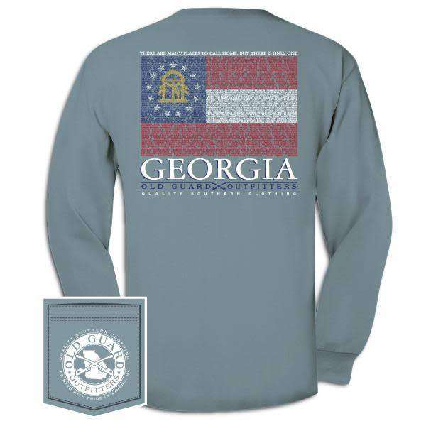 Old Guard Outfitters Georgia City Flag Long Sleeve