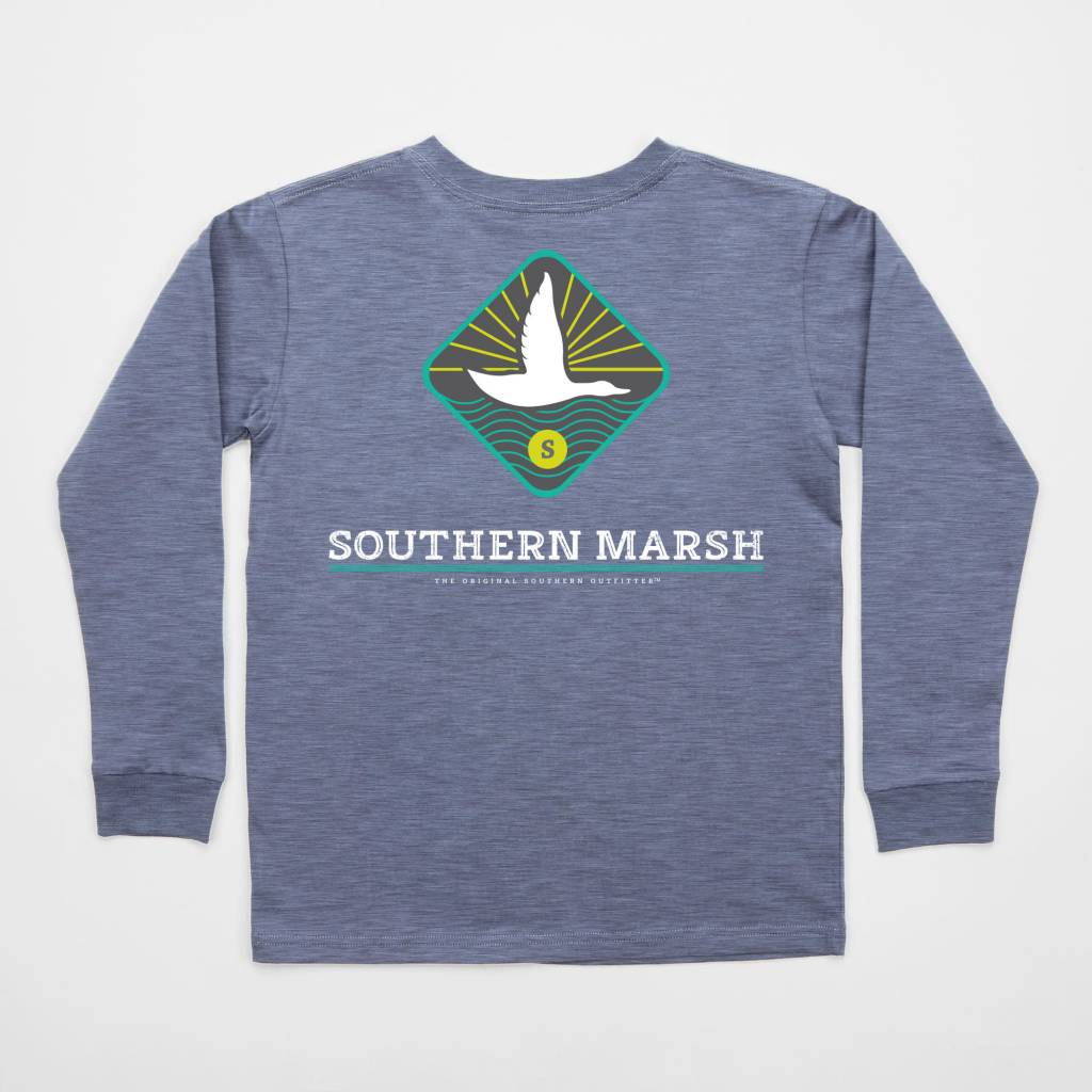 Southern marsh youth branding collection tee flying duck for Southern marsh dress shirts on sale