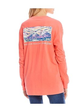 Lauren James Lauren James Meet Me at the Mountain L/S Tee