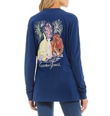 Lauren James Lauren James Party Puppy Long Sleeve Graphic Tee