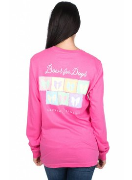 Lauren James Lauren James Bows For Days Long-Sleeve Graphic Tee