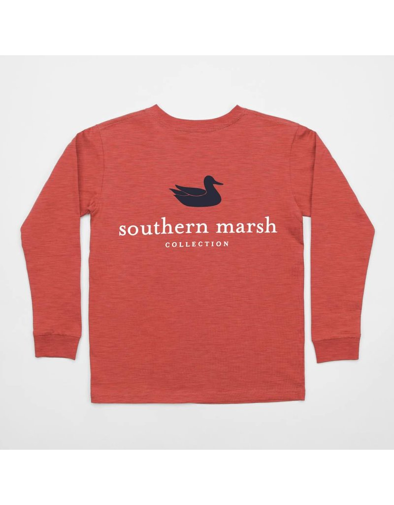 Southern Marsh Youth Authentic Tee - Long Sleeve