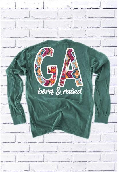 Calamity Jane's Apparel GEORGIA: Tribal Born & Raised