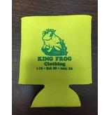 King Frog Clothing Koozie