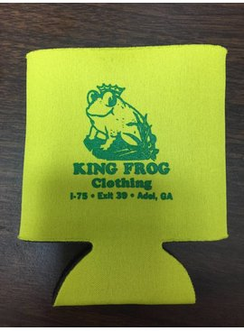 King Frog Clothing Koozie