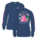Simply Southern Collection Simply Southern Sisters Long Sleeve T-Shirt