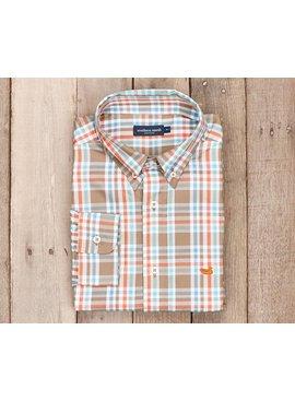 Southern Marsh Southern Marsh Fairley Plaid Dress Shirt