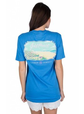 Lauren James Lauren James Just Coast Tee - Short Sleeve