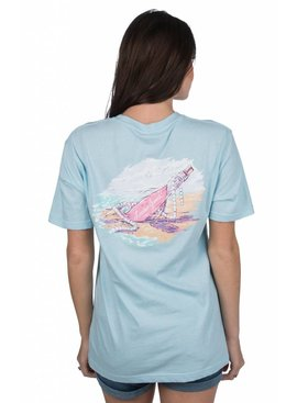 Lauren James Lauren James - Message in a Bottle Tee - Short Sleeve