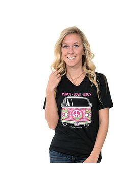 Simply Faithful SIMPLY FAITHFUL® 'BUS' Short Sleeve T-Shirt
