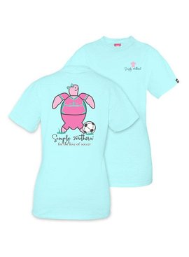 Simply Southern Collection SIMPLY SOUTHERN® SAVE THE TURTLES 'SOCCER' SHORT SLEEVE T-SHIRT