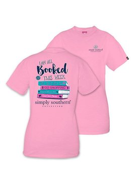 Simply Southern Collection SIMPLY SOUTHERN® SHORT SLEEVE BOOKED T-SHIRT