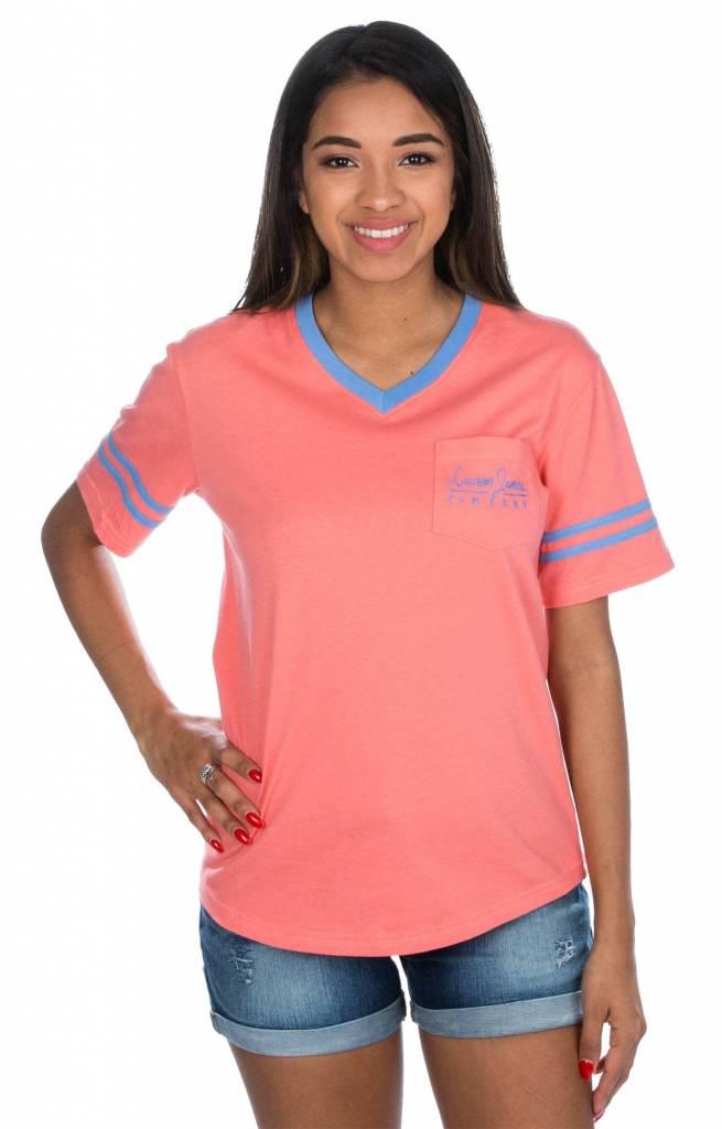 Lauren James Lauren James - Baseball Logo Jersey - Short Sleeve