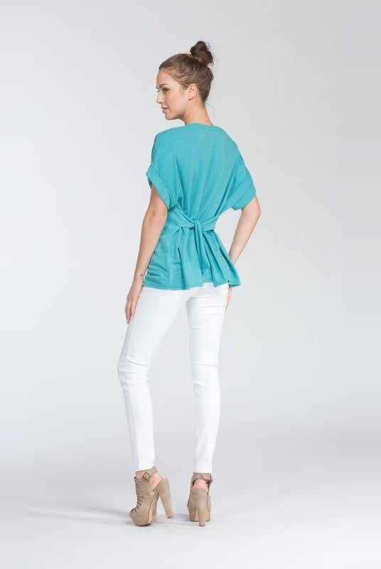 Cherish Loose Fit Short Sleeve Top