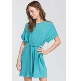 Cherish Loose Fit Short Sleeve Dress