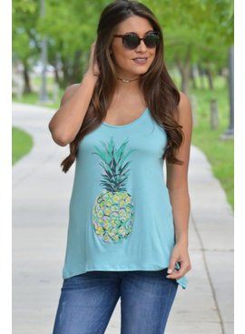 Papermoon Down Under Pineapple Tank