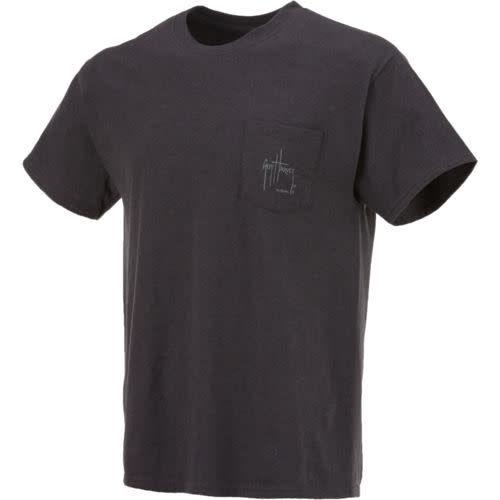 Guy Harvey Guy Harvey Rollin' Mens Short Sleeve Shirt