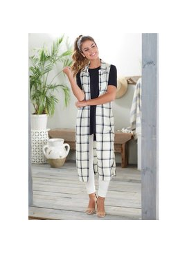 Mud Pie Jamie Button Down Duster