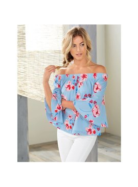 Mud Pie Mud Pie - Izzy Off-The-Shoulder Top
