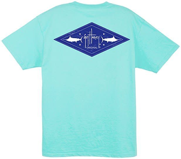 Guy Harvey Guy Harvey Men's Two-Fer T-Shirt
