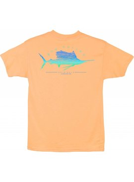 Guy Harvey Guy Harvey Sailfish Scribble Boys Short Sleeve Shirt