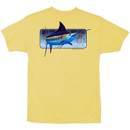 Guy Harvey Guy Harvey Bill Skin Boys Short Sleeve Shirt