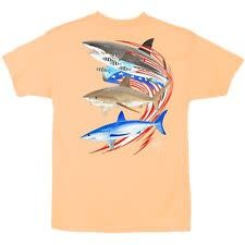 Guy Harvey Guy Harvey Go Fast Boys Short Sleeve Shirt