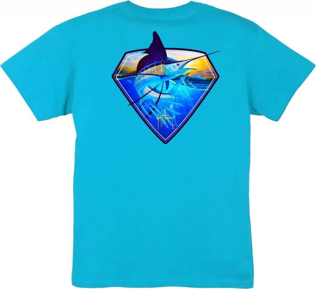 Guy Harvey Guy Harvey Super Sail Boys Short Sleeve Shirt