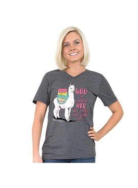 Simply Faithful SIMPLY FAITHFUL® God Is Within' Her Alpaca Short Sleeve T-Shirt