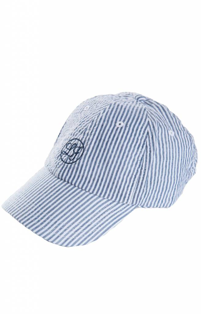 Lauren James Lauren James - Seersucker Baseball Hat