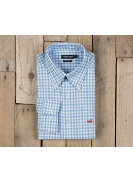 Southern Marsh Cameron Performance Gingham Dress Shirt
