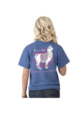 Simply Southern Collection Youth -SIMPLY SOUTHERN® Short Sleeve - PREPPY BE YOU - T-SHIRT