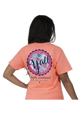 Simply Southern Collection Simply Southern -Preppy Y'all -T-Shirt