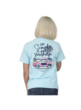Simply Southern Collection Simply Southern -Preppy Van -T-Shirt
