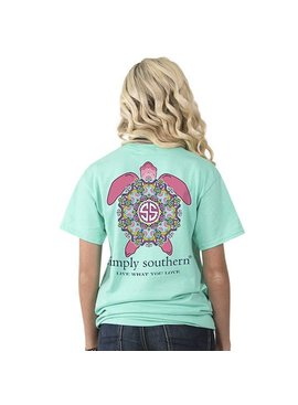 Simply Southern Collection Simply Southern -Preppy Turtle -T-Shirt
