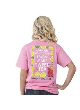 Simply Southern Collection Simply Southern -Preppy Sweet Tea -T-Shirt