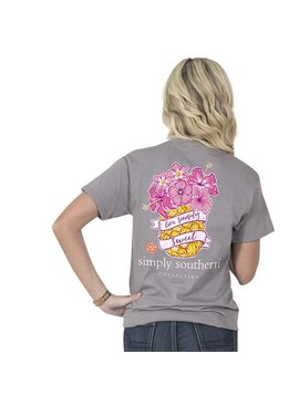 Simply Southern Collection Simply Southern® Short Sleeve Preppy Pineapple T-Shirt