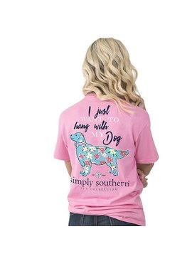 Simply Southern Collection SIMPLY SOUTHERN® - PREPPY MY DOG - T-SHIRT