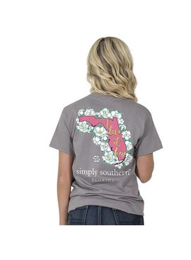 Simply Southern Collection SIMPLY SOUTHERN® SS Preppy Florida T-Shirt