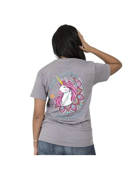 Simply Southern Collection Simply Southern® Short Sleeve Unicorn Preppy Loved T-Shirt