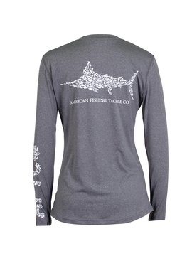 AFTCO Womens Jigfish Performance Sun Shirt