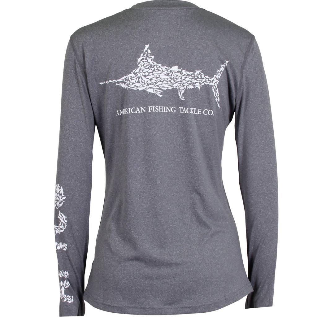 AFTCO Womens Jigfish Performance Sun Shirt