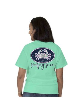 Simply Southern Collection Simply Southern Preppy Crab T-Shirt
