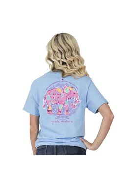 Simply Southern Collection Simply Southern Preppy Elephant T-Shirt