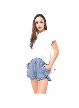 Very J Ruffle Shorts