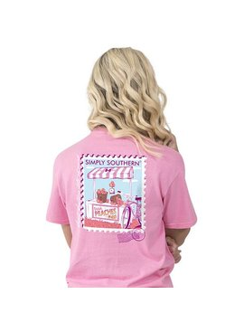 Simply Southern Collection Simply Southern Preppy Peach T-Shirt