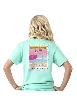 Simply Southern Collection Simply Southern Preppy Warm Waves T-Shirt