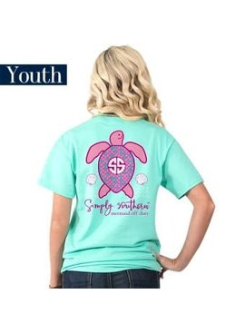 Simply Southern Collection YOUTH Simply Southern Save Mertle T-shirt